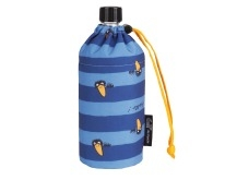 """Emil die Flasche """"Rabe blau"""""""