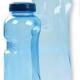 Alvito Trinkflasche blau - Blume des Lebens