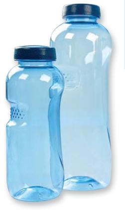 wasserflasche blume des lebens